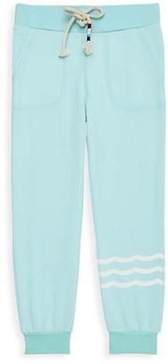 Sol Angeles Little Girl's & Girl's Waves Hacci Joggers