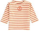Imps & Elfs Marine Peace Striped Organic Cotton