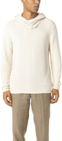 Vince Textured Hoodie Sweater