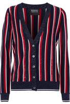 Markus Lupfer Sequin-Embellished And Metallic Striped Cardigan