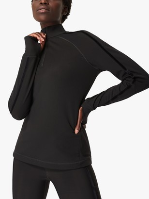 Sweaty Betty Thermodynamic Zip Top, Black