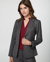 Le Château Tweed Viscose Blend Notch Collar Blazer