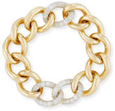 Pomellato Tango Curb Link Bracelet with Diamonds