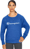Champion Women's Fleece Boyfriend Crewneck