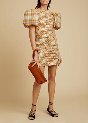 KHAITE The Shelly Dress in Orange Multi