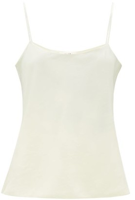 The Row Biggins Silk-strap Satin Camisole - Ivory