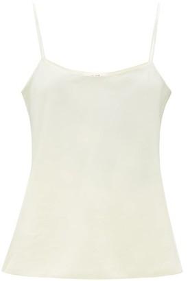 The Row Biggins Silk-strap Satin Camisole - Womens - Ivory