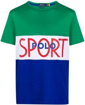 Polo Ralph Lauren panelled T-shirt