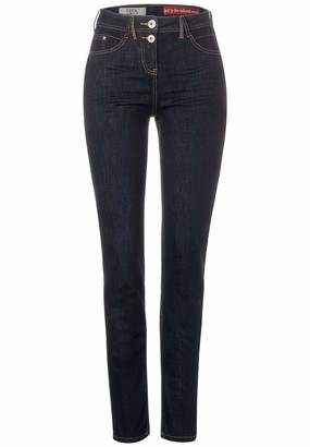 Cecil Women's 373371 Blue-Jeans im Style Toronto Trouser
