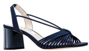 Nina Nadelyn Ii Block Heel Sandals Women's Shoes
