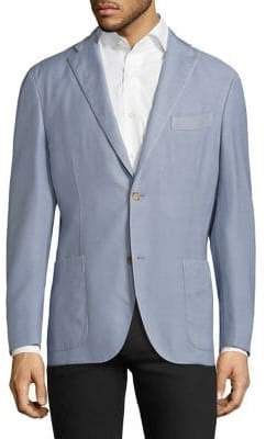 Boglioli Textured Regular Blazer