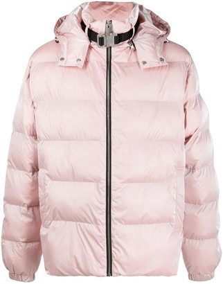 Alyx Clip-Neck Quilted Puffer Jacket