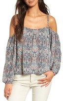 Cupcakes And Cashmere Women's Julina Cold Shoulder Top