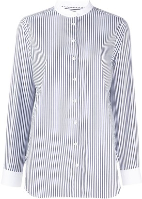 Closed Striped Long-Sleeve Shirt