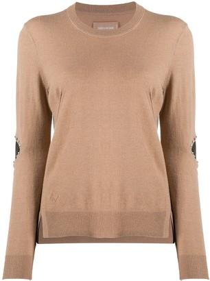 Zadig & Voltaire Shany stud-embellished jumper