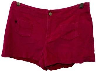Ralph Lauren Pink Cotton Shorts for Women Vintage
