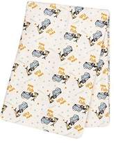 Trend Lab Dr. Seuss One Fish, Two Fish Deluxe Flannel Swaddle Blanket by