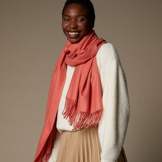 Love & Lore Love And Lore Supersoft Scarf Solid Coral