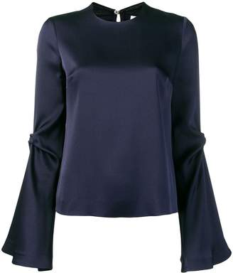 Galvan Orchid blouse