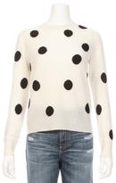 360 CASHMERE Tifa Polkadot Sweater