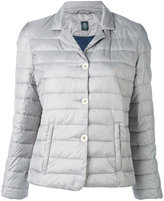 Eleventy classic collar puffer jacket