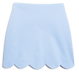 Aqua Girls' Scalloped Skirt - Big Kid