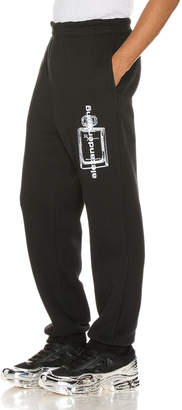 Alexander Wang Graphic Sweatpant in Black | FWRD