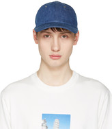 Sunnei Blue Denim Cap