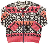 The Bonnie Mob Fair Isle Chunky-Knit Cotton-Blend Cardigan