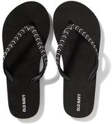 Old Navy Beaded Flip-Flops for Girls