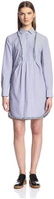 Thakoon Women's Striped Shirt Dress