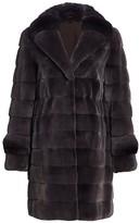 The Fur Salon Mink & Chinchilla Fur Coat