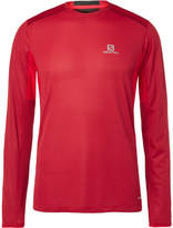 Salomon Trail Runner Mesh-Panelled Jersey T-Shirt