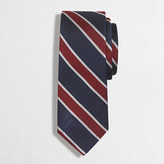 J.Crew Factory Silk rugby-striped tie