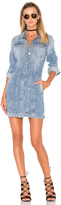 7 For All Mankind Trucker Shirt Dress