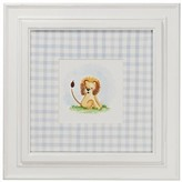 The Well Appointed House Safari Theme Framed Wall Art: Lion