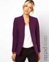 Asos Exclusive Zip Pocket Notch Blazer