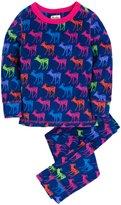 Hatley Ski Thermals (Toddler/Kid) - Graphic Deers-8