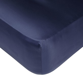 John Lewis & Partners Egyptian Cotton 1000 Thread Count Fitted Sheet, Sapphire