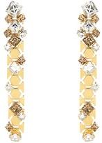 Lanvin Chain Lumiere crystal drop earrings