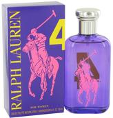 Ralph Lauren Big Pony Purple 4 by Eau De Toilette Spray for Women (3.4 oz)