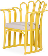David Francis Furniture Calla Accent Chair, Sunflower Yellow