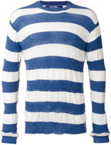Junya Watanabe Comme Des Garçons Man - striped jumper - men - Cotton - S