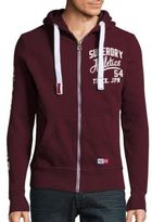 Superdry Trackster Solid Cotton-Blend Hoodie