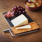 Sur La Table Slate Cheese Board with Slicer