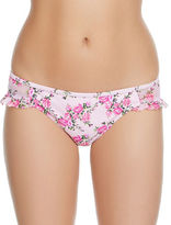 Betsey Johnson Lovers To Lovers Floral-Print Hipsters