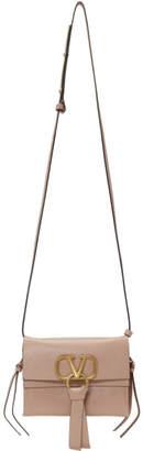 Valentino Pink Garavani Small VRing Crossbody Bag