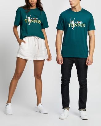 Lacoste L!VE Vintage Tennis T-Shirt