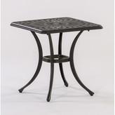 AIC Garden & Casual Roma Square Cast Aluminum Side Table