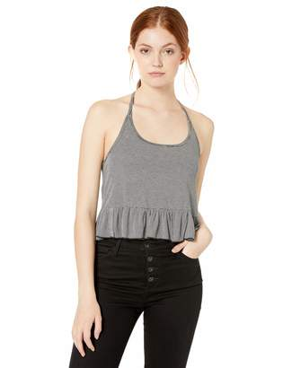 Volcom Junior's Women's Along The Way Cropped Halter Tank Cami Top